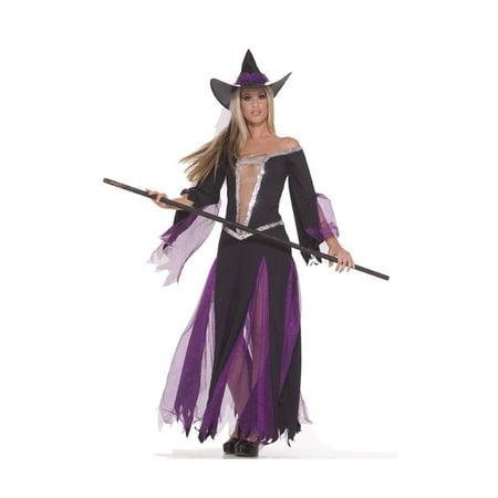Forum Womens Sexy Black Purple Ballroom Dancing Witch - Ballroom Costumes