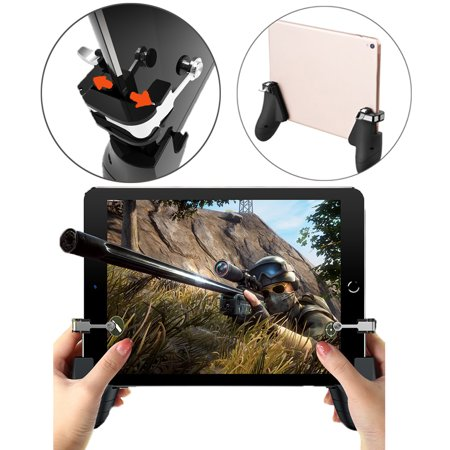 Agoz iPad Game controller Shoot Aim Trigger PUGB Gaming Hand-Grip Joystick Gamepad for iOS and Android (Best Bejeweled Game Ipad)