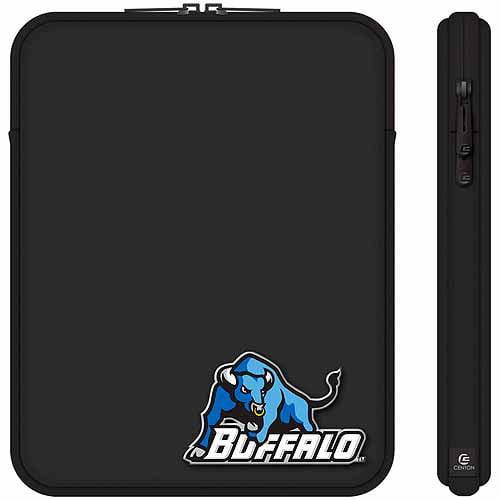 "Centon 10"" Classic Black Tablet Sleeve University at Buffalo"