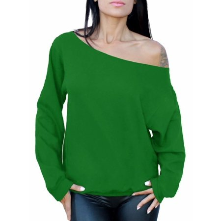 ac2fa60b58aa7d Awkward Styles Women s Off the Shoulder Slouchy Oversized Sweatshirt Sexy  Off the Shoulder Sweater Pullover Off Shoulder Tops for Women