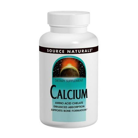 Calcium Chelate 200mg Source Naturals, Inc. 250