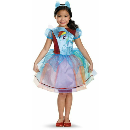 My Little Pony Rainbow Dash Deluxe Child Halloween Costume](Diner Dash Halloween)