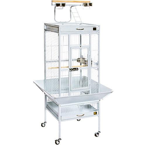 "Prevue Select Wrought Iron Cockatiel Bird Cage 18""x18x57\ by Prevue Pet"