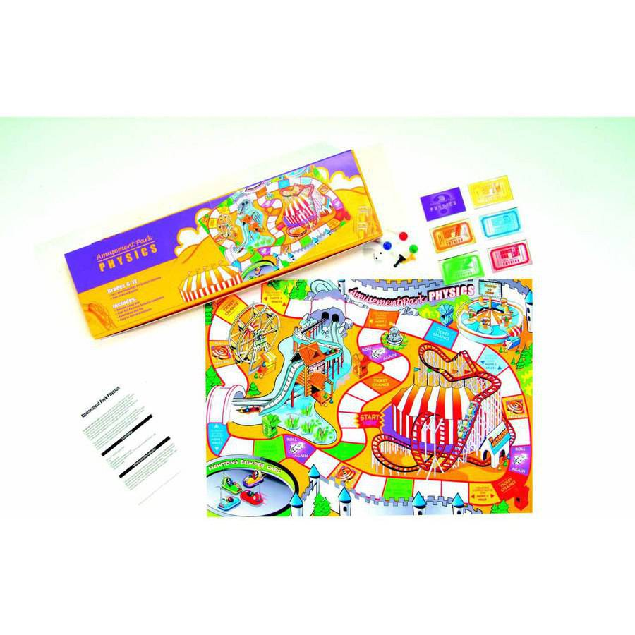 American Educational Products Amusement Park Physics Game, 2-5 Players, Grade 6-12