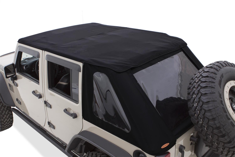 Jeep Wrangler 4 Door Soft Top >> Bushwacker 07 18 Jeep Wrangler Unlimited 4 Door Trail Armor Twill