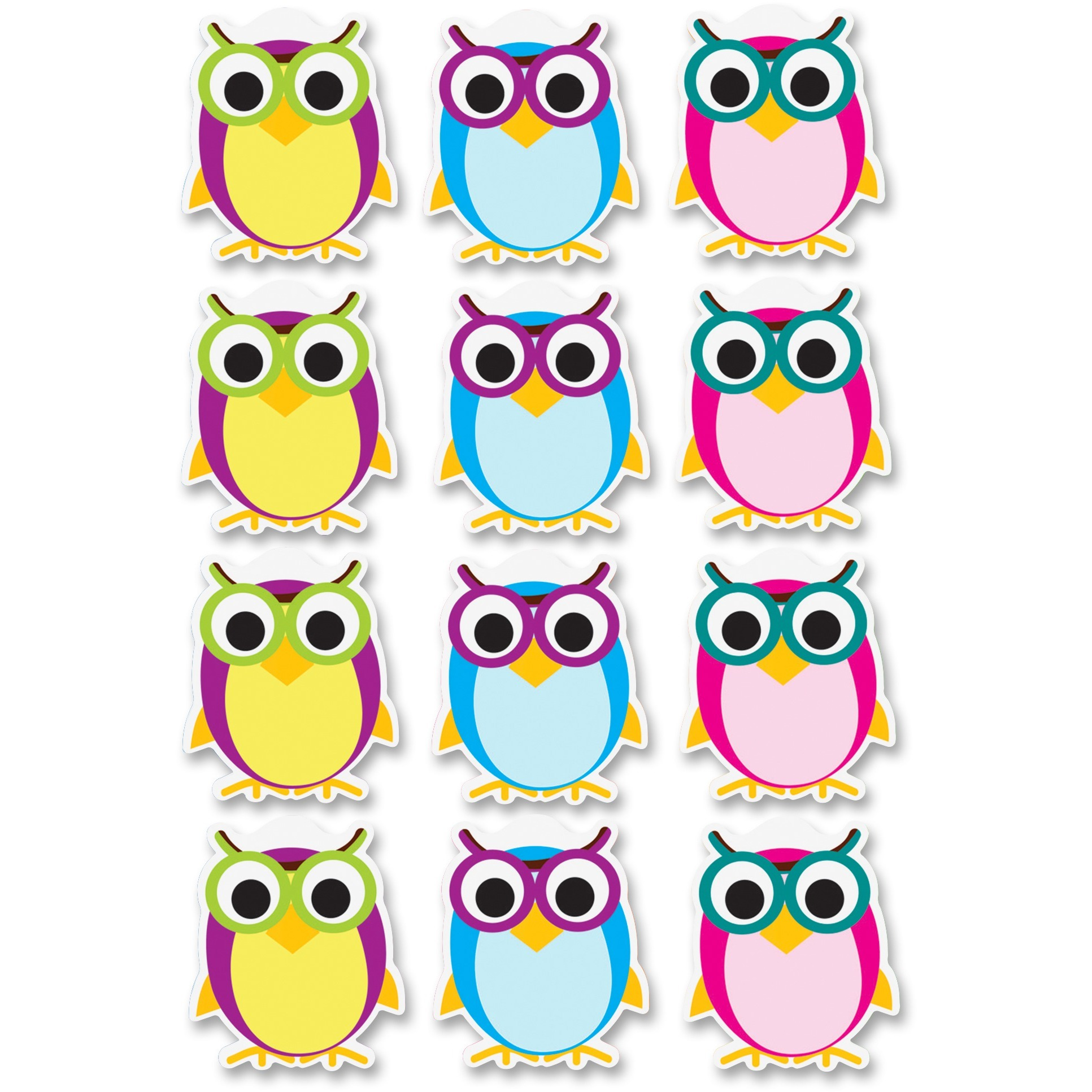 Ashley Dry Erase Owl Magnets