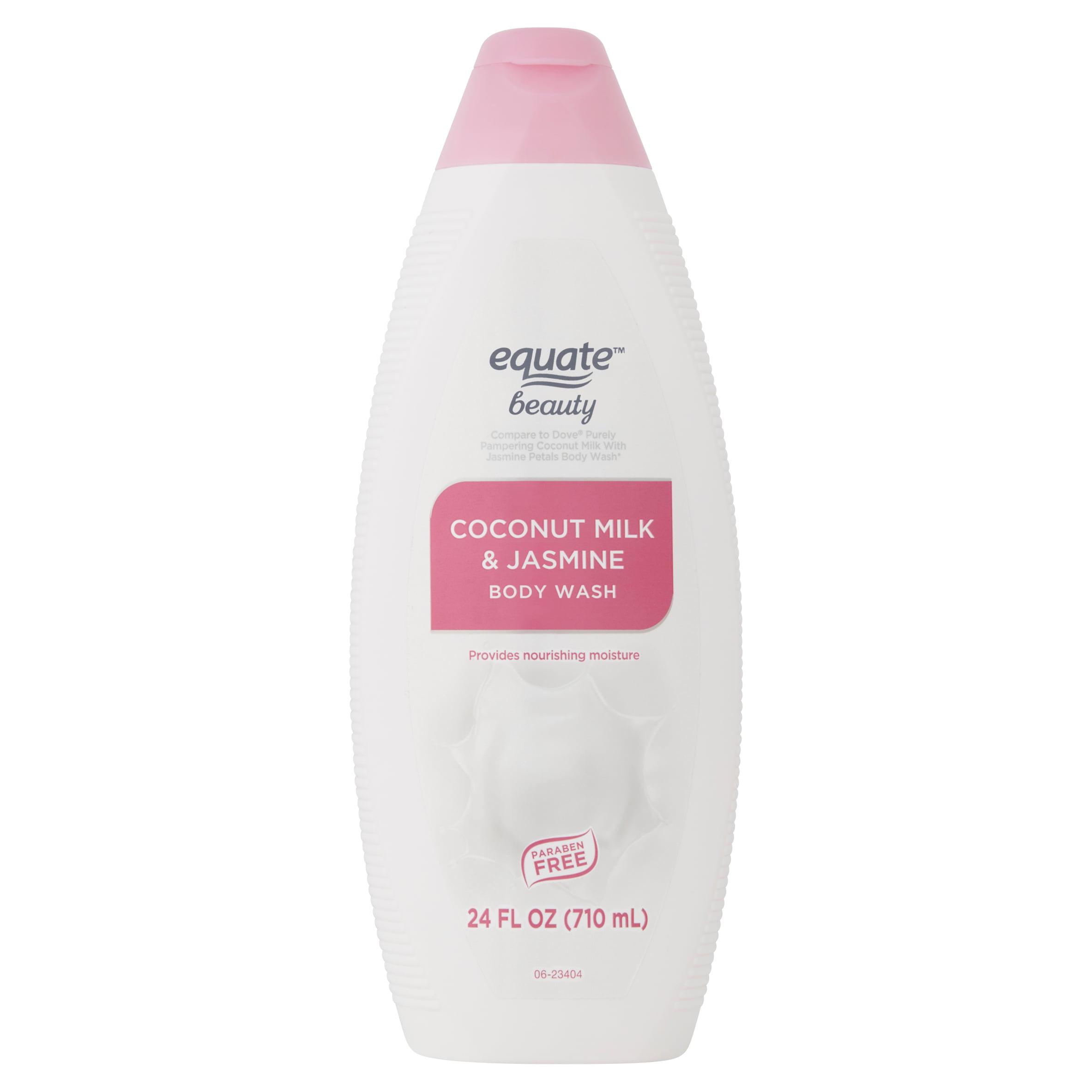 Equate Beauty Coconut Milk Jasmine Body Wash 24 Fl Oz Walmart Com Walmart Com