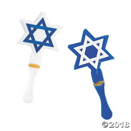 Star of David Hand Clappers](Large Hand Clappers)
