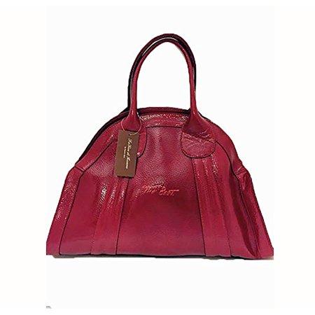 La Gioe di Toscana Dome Red Patent Leather Handbag - Extra
