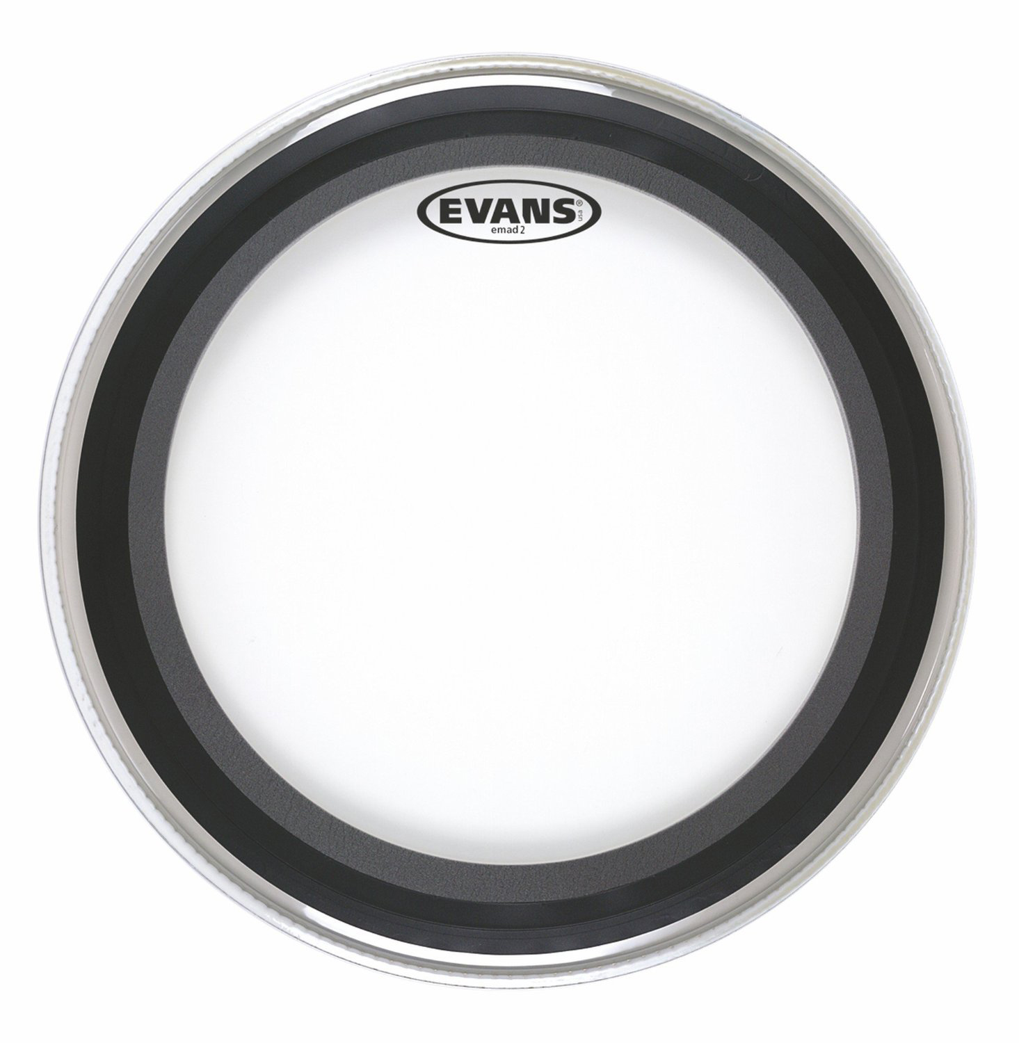 "Evans BD24EMAD 24"" Clear EMad Bass Drum Head by Evans"