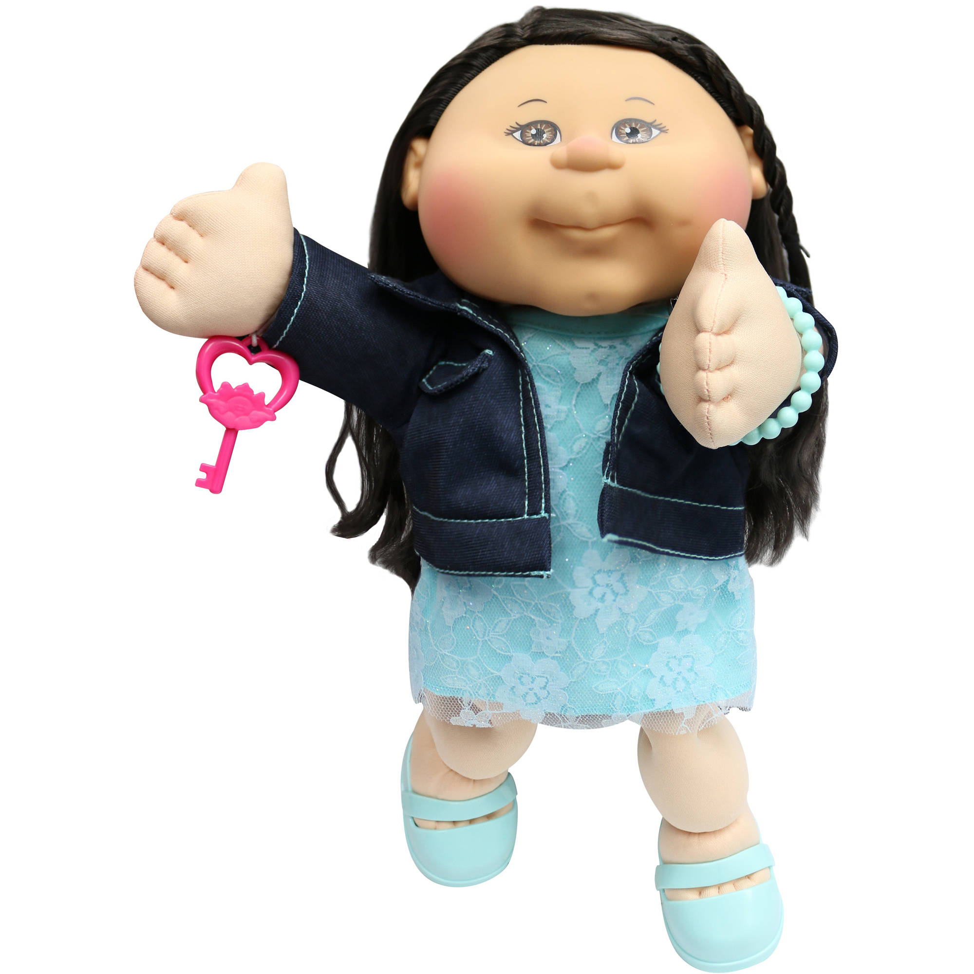 Spending asian boy cabbage patch