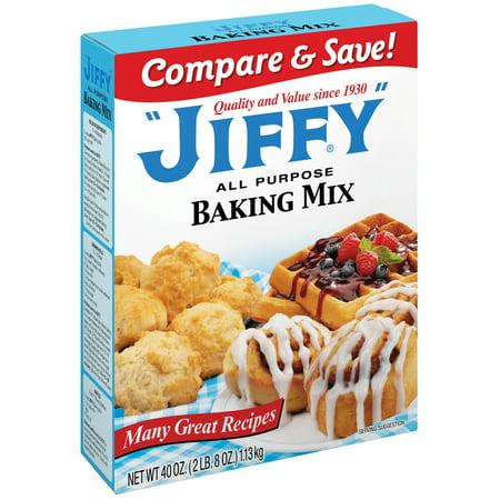 Mix Baking Mixes - (3 Pack) Jiffy Baking Mix 40 oz