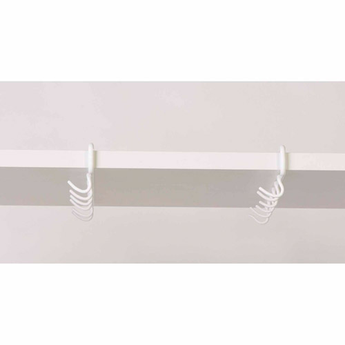 Panacea 40206 2-Count White Under Shelf Cup and Mug Holder