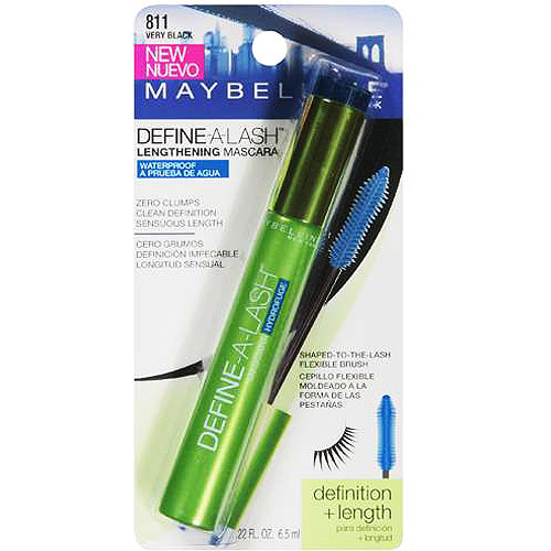 Maybelline Define-A-Lash Waterproof Mascara, Very Black