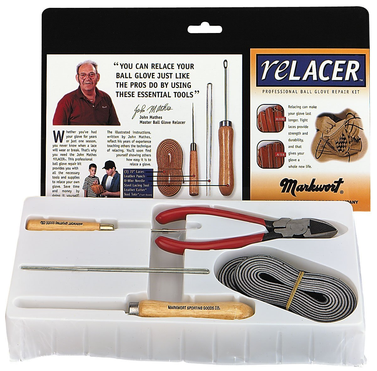 Deluxe Pro Relacer Kit, Tan, Kit contains all the tools a...