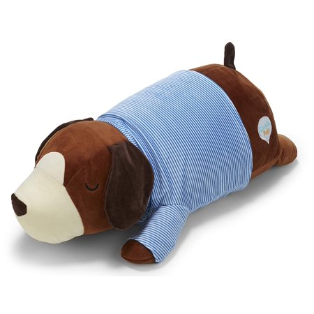 Cuddle Dog - Cuddle Pal Brown Dog Hug Pillow