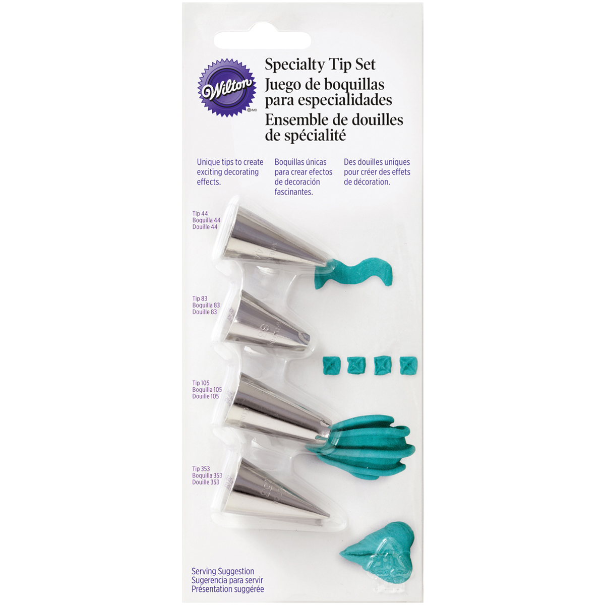 Specialty Tip Set, 4-Pack