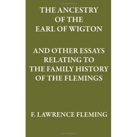 The Ancestry Of The Earl Of Wigton