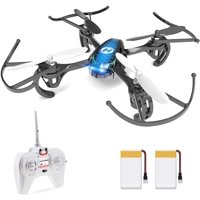 Holy Stone HS170 Mini Drone for Kids RC Nano Quadcopter Drone with 2 Batteries Toys Gifts for Beginners Color Blue