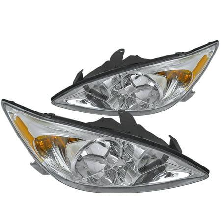 Spec-D Tuning Jdm 2002-2004 Toyota Camry Head Lights Lamps 2002 2003 2004 (Left + Right) 2002 Toyota 4runner Corner