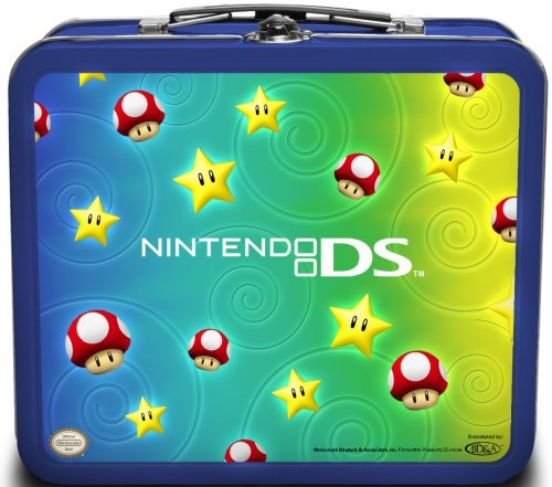 Nintendo DS Lite Tin Starter Kit Stars and Mushrooms