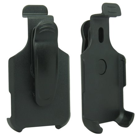 For Sprint Kyocera Duramax E4255 Black Swivel Belt Clip Holster Case (Kyocera Black Faceplates)