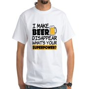 CafePress - I Make Beer Disappear Funny Saying T-Shirt - Men's Classic T-Shirts