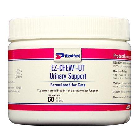 UT EZ-Chew urinaire support souple Bouchées pour les chats (60 count)