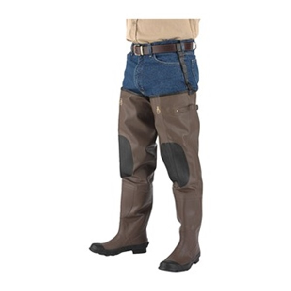 Proline Insulated Hip Waders, Mens, Size 10, PR