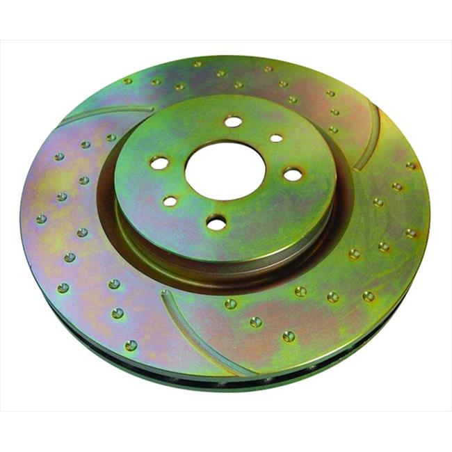 GD411 3Gd Series Dimpled And Slotted Sport Rotor