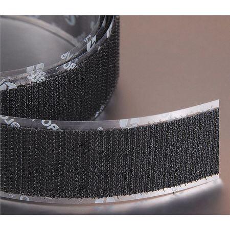 VELCRO BRAND Reclosable Fastener,Hook,1/2x75 ft,Black -