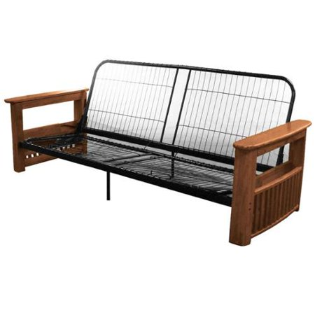 Columbus Queen Or Full Size Storage Arm Futon Frame Queen