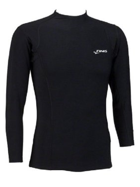 FINIS Kids Thermal Swim Shirt In Black, Multiple Sizes