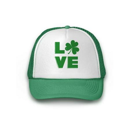 d20c552666264b Awkward Styles Irish Shamrock Hat St. Patrick's Day Trucker Hat Irish Gifts  St Patrick's Day Hat Irish Party Lucky Charm Green Hat for St. Patrick's  Day ...