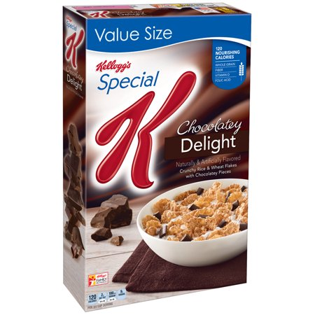 Kellogg's Special K Breakfast Cereal, Chocolate, 18.5 Oz