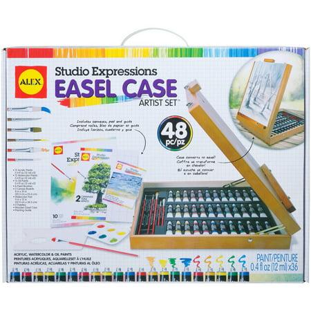 Image of ALEX Art Studio Expressions Easel Case Artist Set