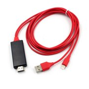 HDMI Digital Cable HDTV TV Digital AV Adapter USB HDMI 1080P Smart Converter Cable for Apple TV For iPhone 7/ 7Plus