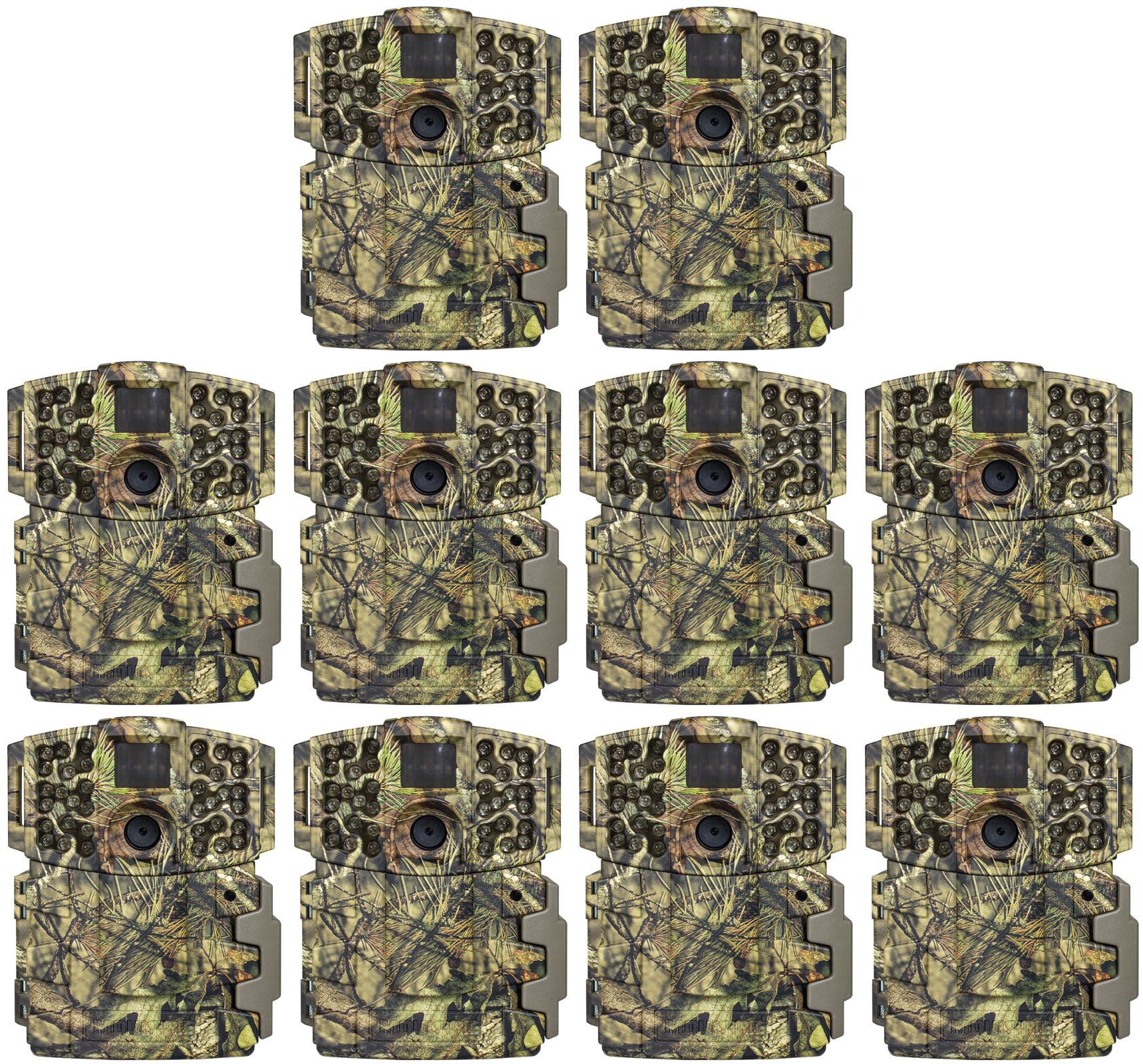 Click here to buy (10) Moultrie No Glow Invisible 20MP Mini 999i Infrared Game Cameras | M-999i by Moultrie.