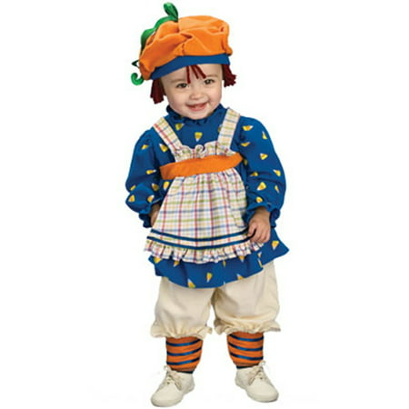 Child's Ragamuffin Girl Raggedy Anne Infant 1-2 - Raggedy Ann Costume Baby