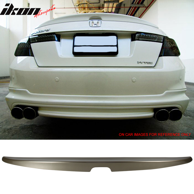 For Honda Accord 4Dr 06-07 Trunk Rear Spoiler Painted ALABASTER SILVER NH700M