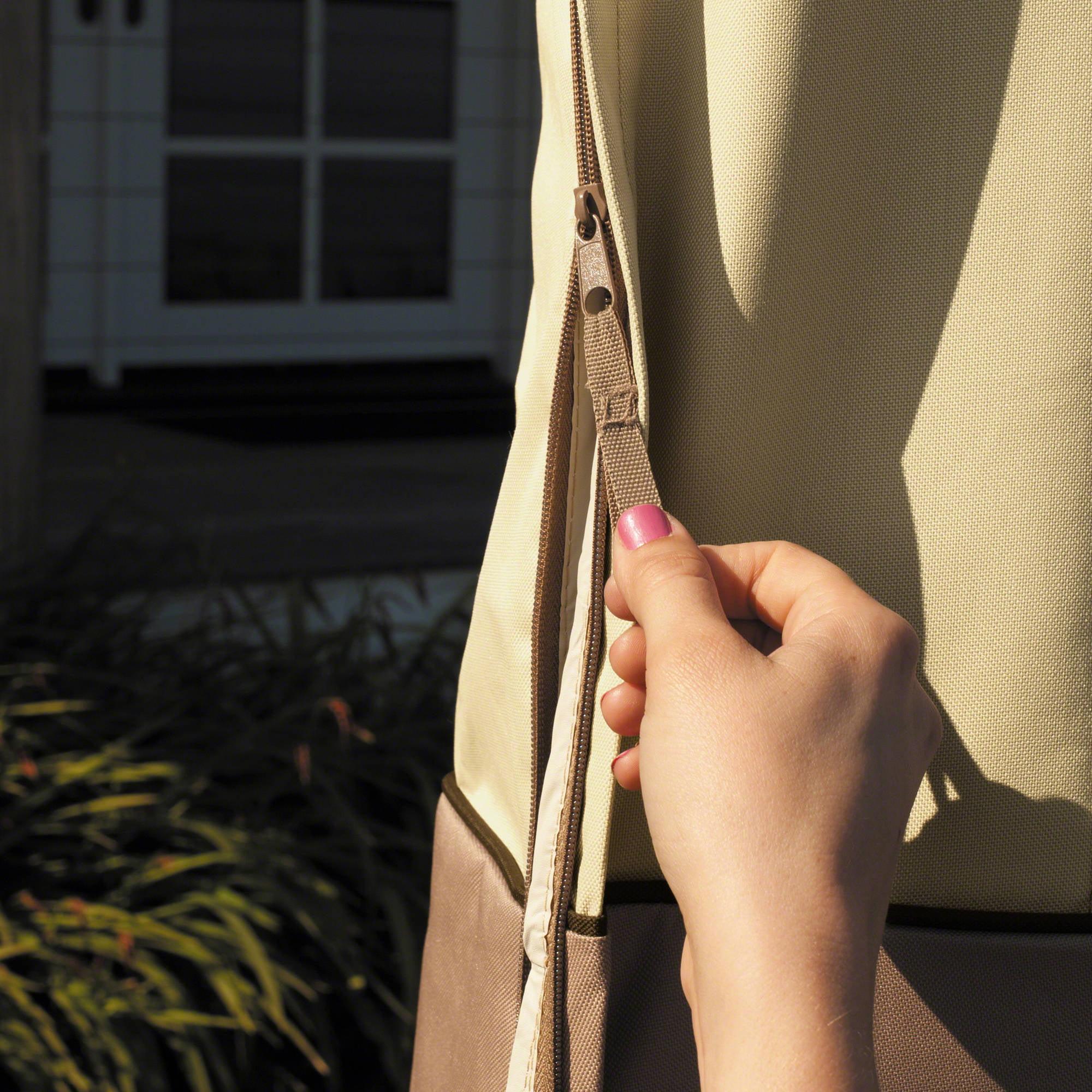 Classic Accessories Veranda Patio Umbrella Furniture Storage Cover