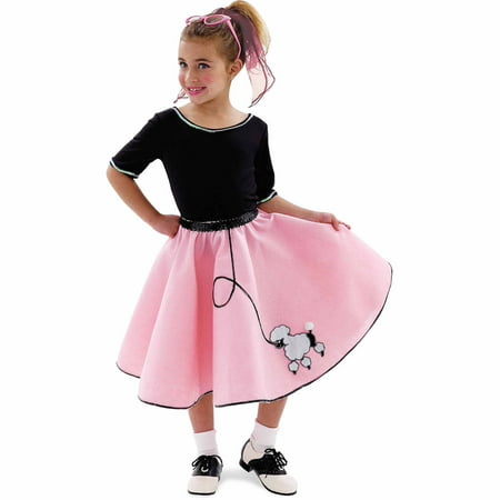 36334180af32 Sock Hop Sweetie Child Halloween Costume - Walmart.com