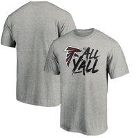Atlanta Falcons NFL Pro Line by Fanatics Branded Falcons vs. All Y'all T-Shirt - Heather Gray