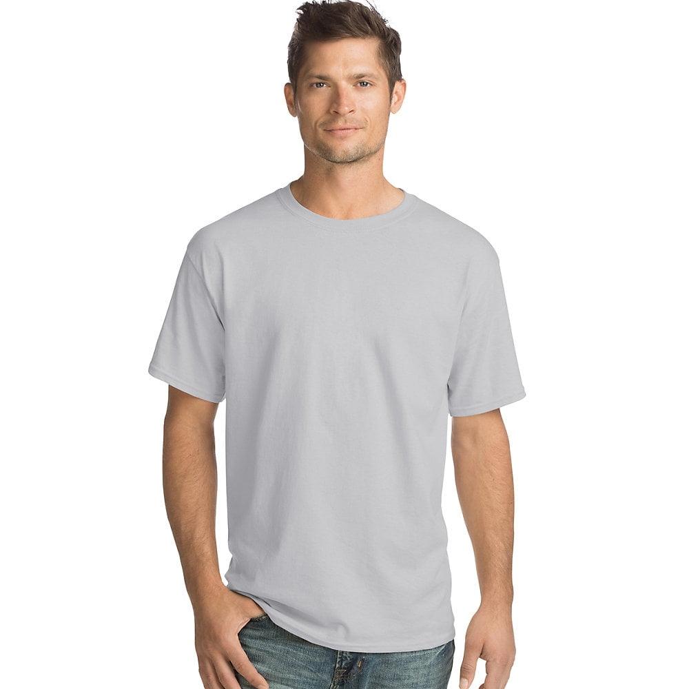 Hanes Mens Tagless ComfortSoft Crewneck T-Shirt