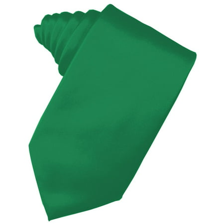 Men's Solid Satin Neck Tie 59