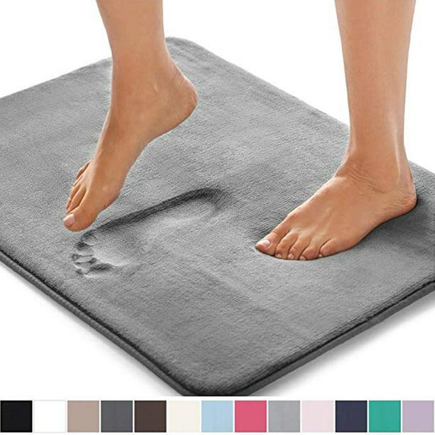 "Memory Foam Bath Mat Bathroom Rug Nonslip Mats Shower Carpet Bath Runner 17/""x 24"