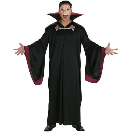 Evil Vampire Adult Halloween Costume](Vampire Halloween Costume Ideas For Adults)