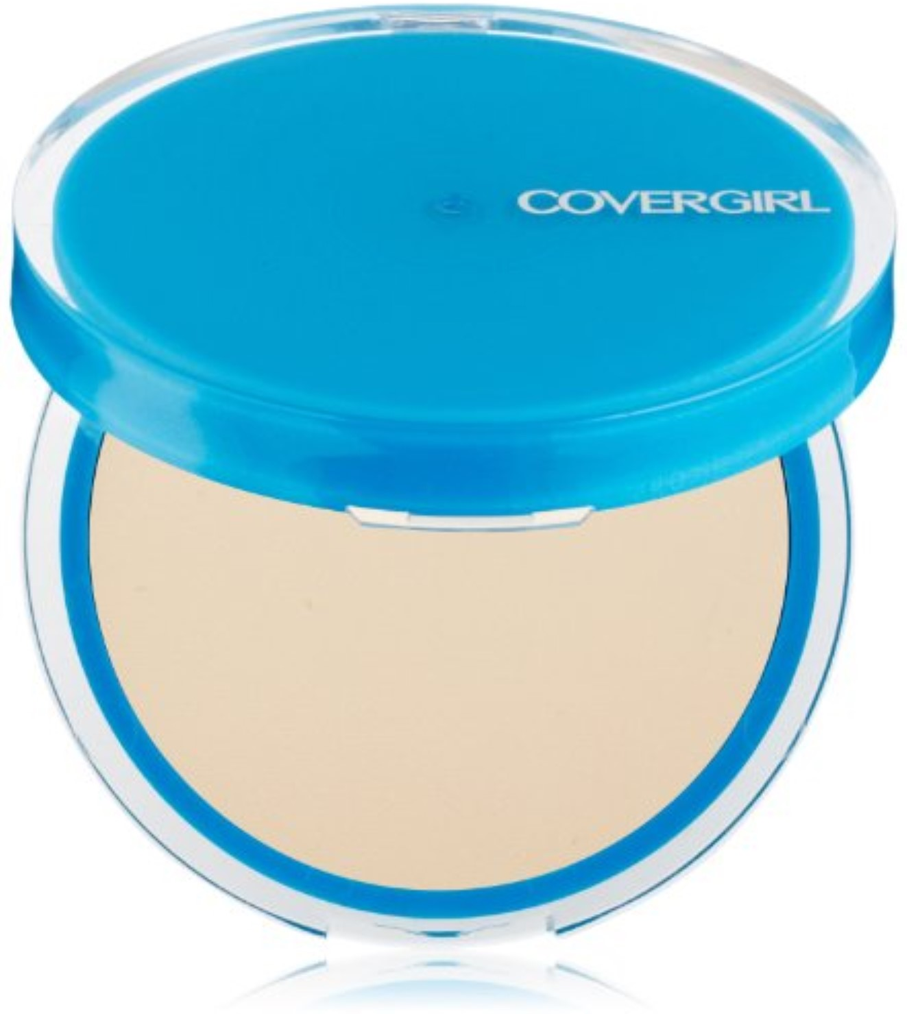CoverGirl Oil Control Compact Pressed Powder, Buff Beige [525], 0.35 oz (Pack of 2)
