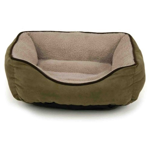 Brinkmann Faux Suede Box Pet Bed