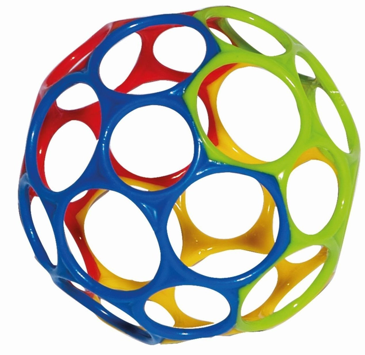 Rhino Toys Oball - Yellow/Blue/Red/Green